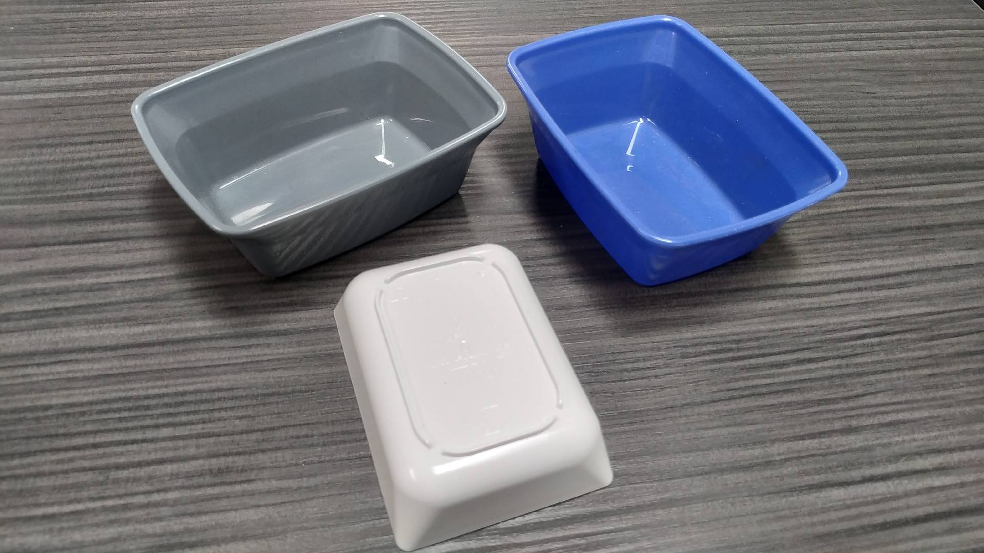 4 and 8 cavities molds REUSABLE SERVING DISH