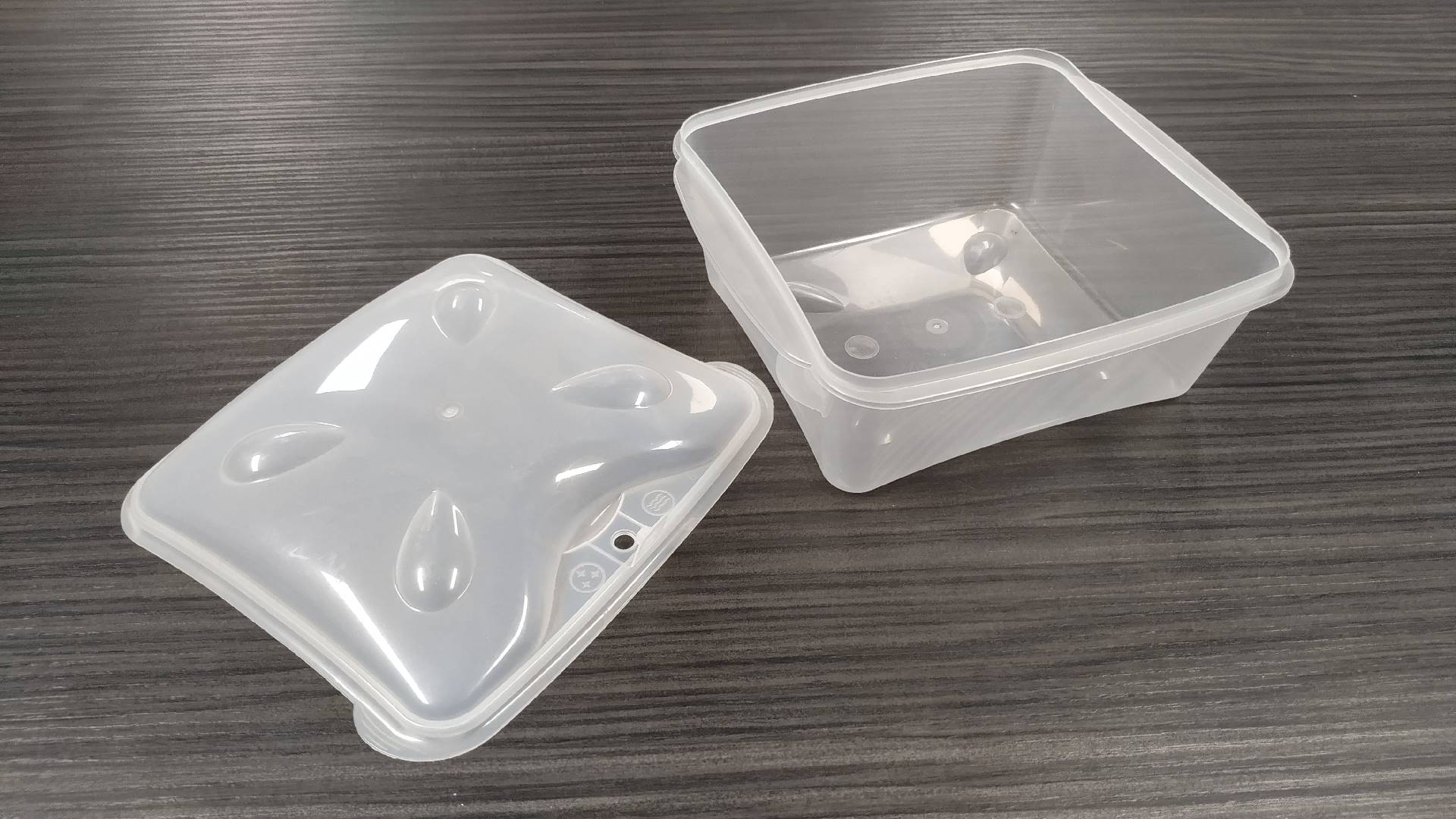 2 + 2 cavities mold BOX and TAMPER PROOF LID