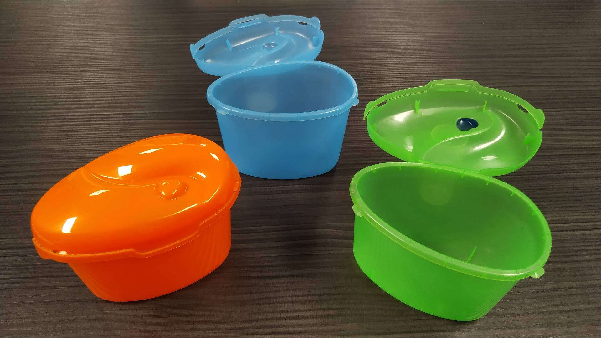 2 + 2 cavities mold POT WITH LID