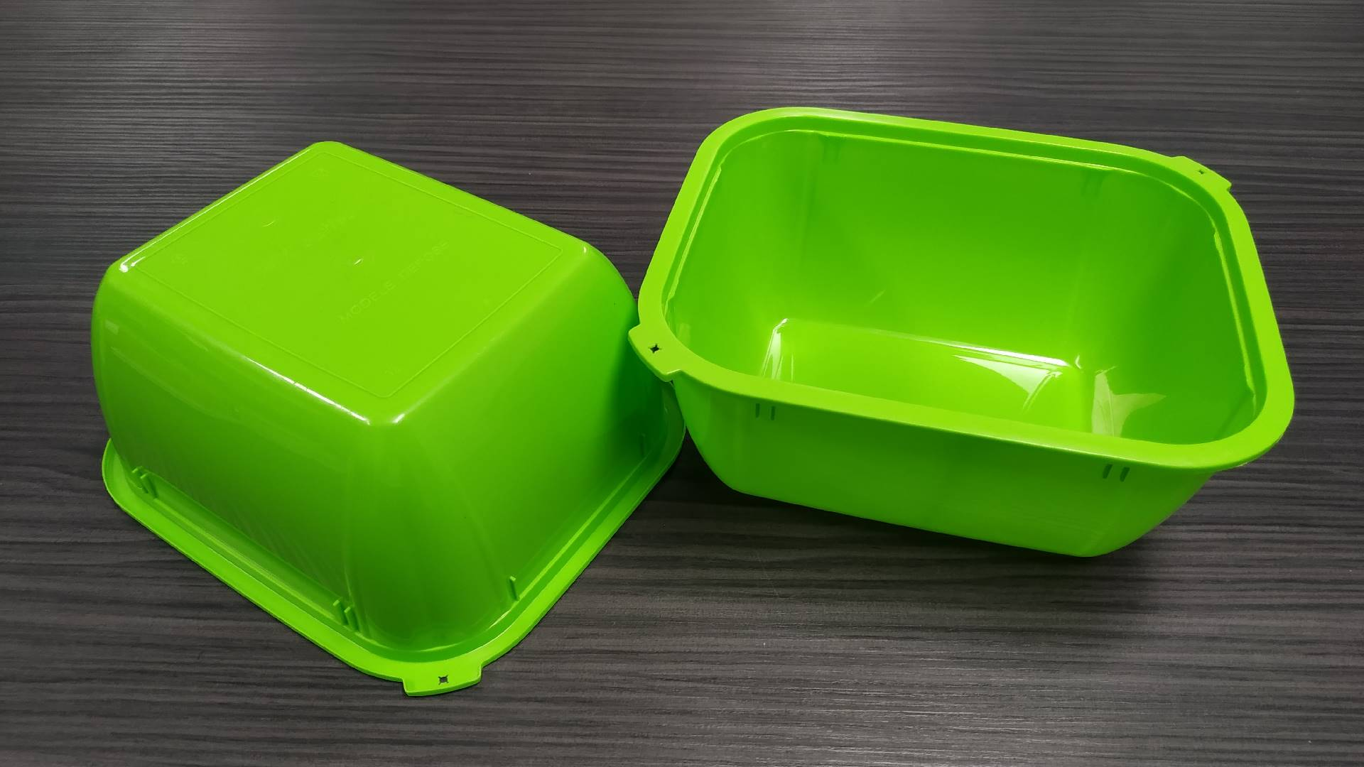 2 + 2 cavities mold SALAD BOWL