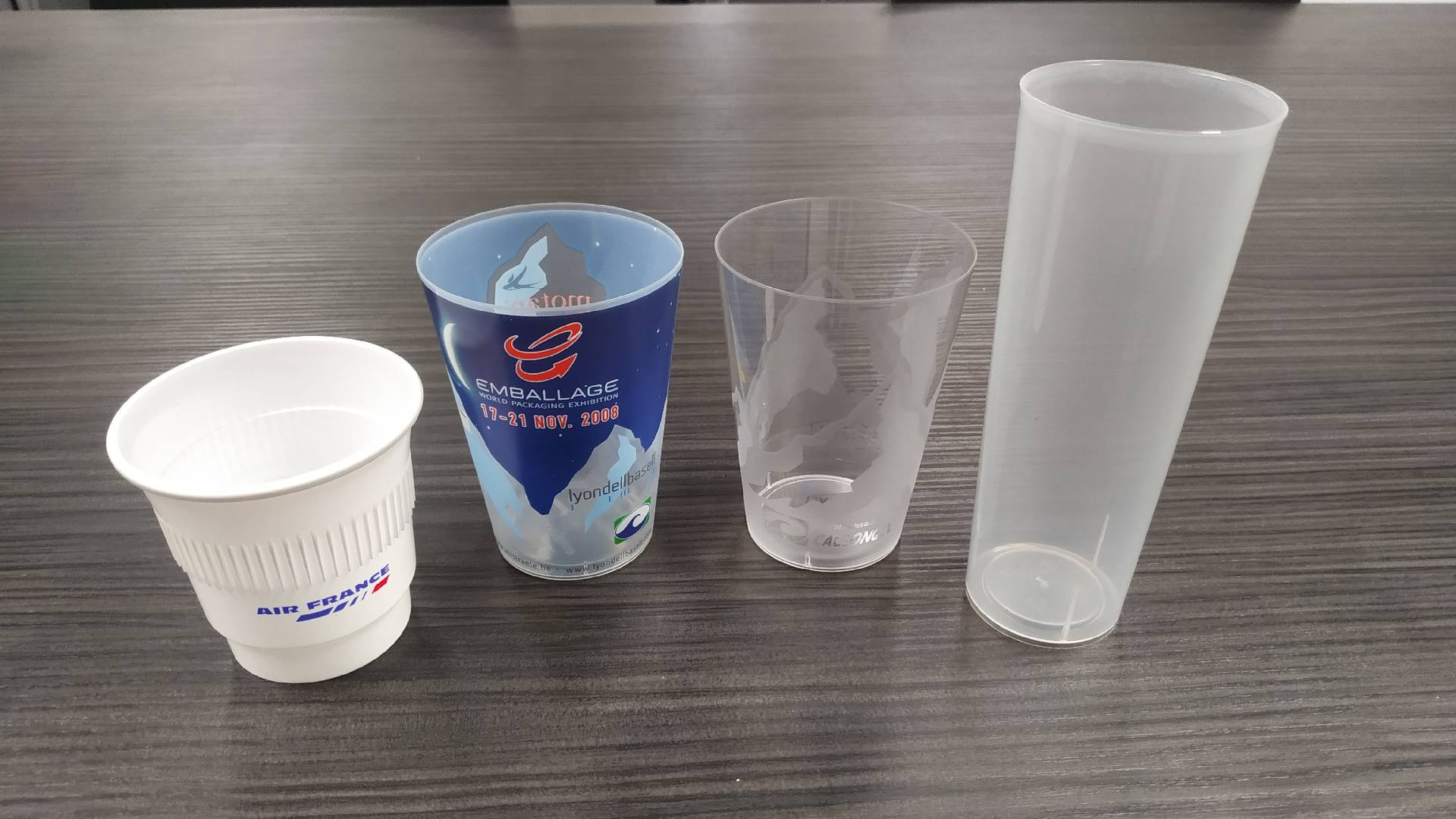 2, 6 and 8 cavities molds CUPS