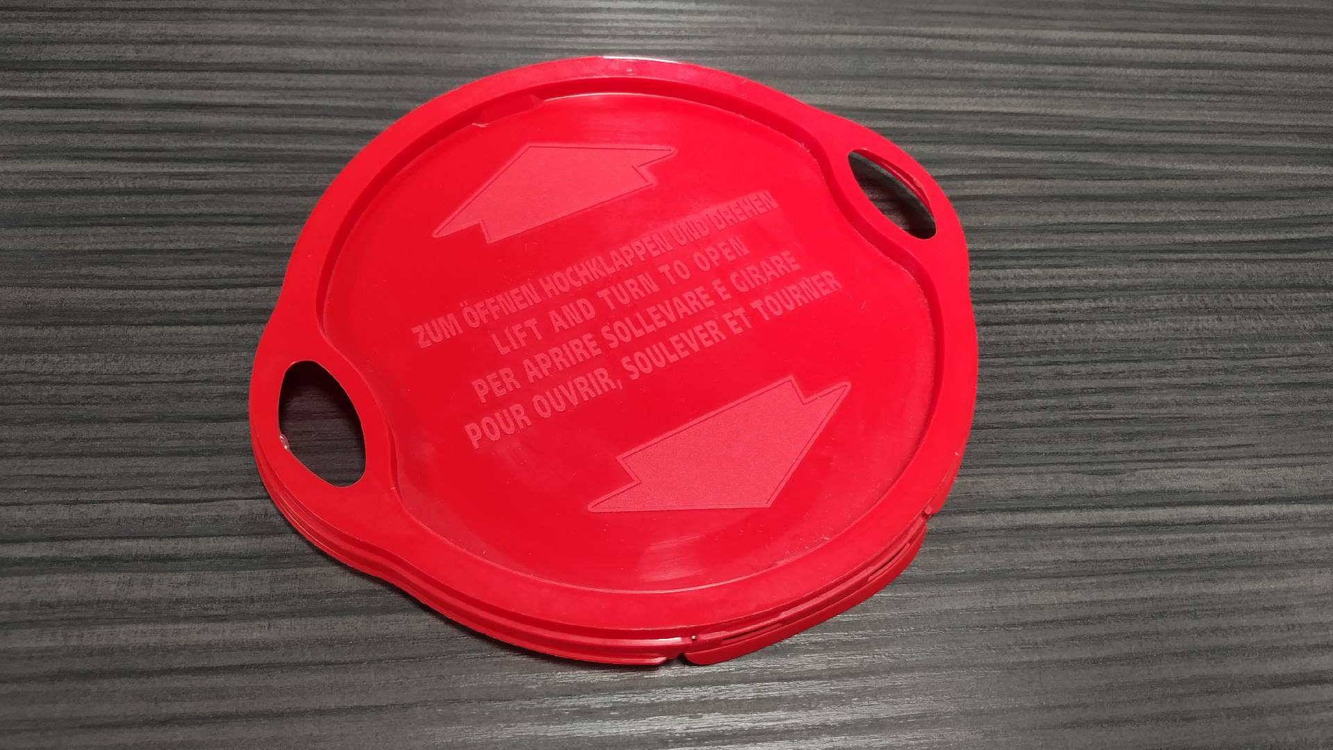2 cavities TAMPER PROOF LID